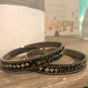 Jewelry - Twin Moroccan style mirrored bracelets